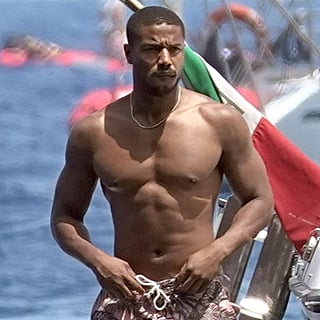 Michael B. Jordan Shirtless Pictures