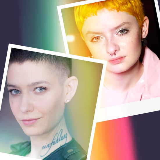 Nonbinary Actors Asia Kate Dillon and Lachlan Watson