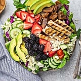 Mixed Berry Grilled Chicken Salad