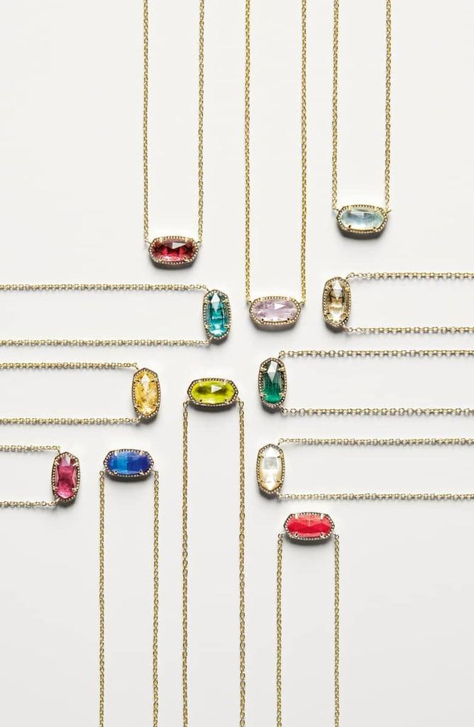 5a9221eb6 Kendra Scott Elisa Birthstone Pendant Necklace | Best Classic ...