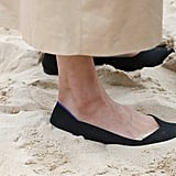 She Swapped Her Manolo Blahnik Heels For Rothy's Flats