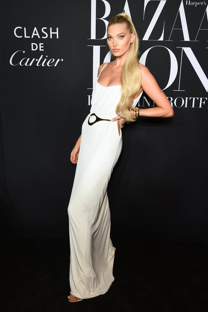Elsa Hosk at the Harper's Bazaar ICONS Party During New York Fashion Week