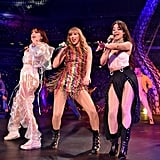 In addition to blowing us away with her incredible performances, Taylor's tour also broke a ton of records. *Deeply inhales* In August, the Reputation stadium tour became the highest-grossing US tour by a woman, a record she previously held for her 1989 world tour. She also broke the attendance record for her first show at the University of Phoenix Stadium in Glendale, AZ, and became the first female artist to play three consecutive shows at MetLife Stadium in East Rutherford, NJ. In December, Taylor's Reputation stadium tour broke the record for highest-grossing US tour with $266.1 million. Whew! *Deeply exhales*