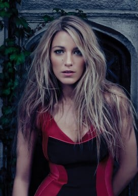 Blake Lively gave a sexy pose for Bullet magazine.