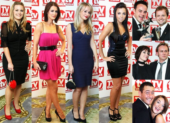Photos From The TV Quick And TV Choice Awards Featuring Ant and Dec, Tess Daly, John Barrowman, Kirsty Gallacher and more