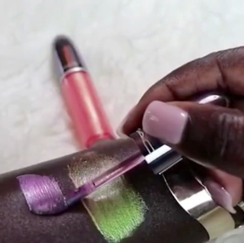 MAC Grand Illusion Lip Gloss Swatches
