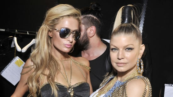 Paris Hilton Returns to the Runway as Fergie Performs During Milan Fashion Week
