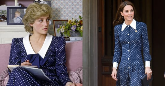 Kate Middleton and Princess Diana Polka-Dot Dress