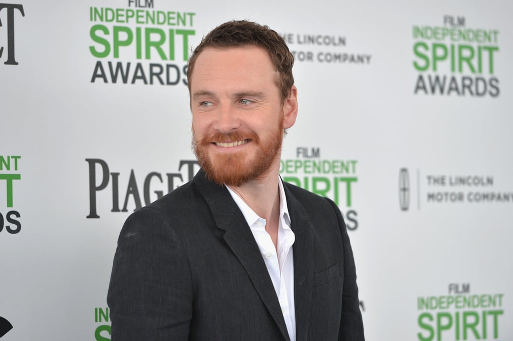 Michael Fassbender turned heads at the Independent Spirit Awards in Santa Monica today. Wearing a black suit, he looked as dapper as ever for one of the final shows of award season. He's up for best supporting male for his work in 12 Years a Slave, nominated alongside the late James Gandolfini, Jared Leto, Keith Stanfield, and Will Forte. Michael will also be vying for best supporting actor at the Oscars, where he'll battle Jared again, plus Barkhad Abdi, Bradley Cooper, and Jonah Hill. Do you think he has what it takes to win? Be sure to vote in our Academy Awards poll, and keep reading for more photos of Michael at the Spirit Awards.