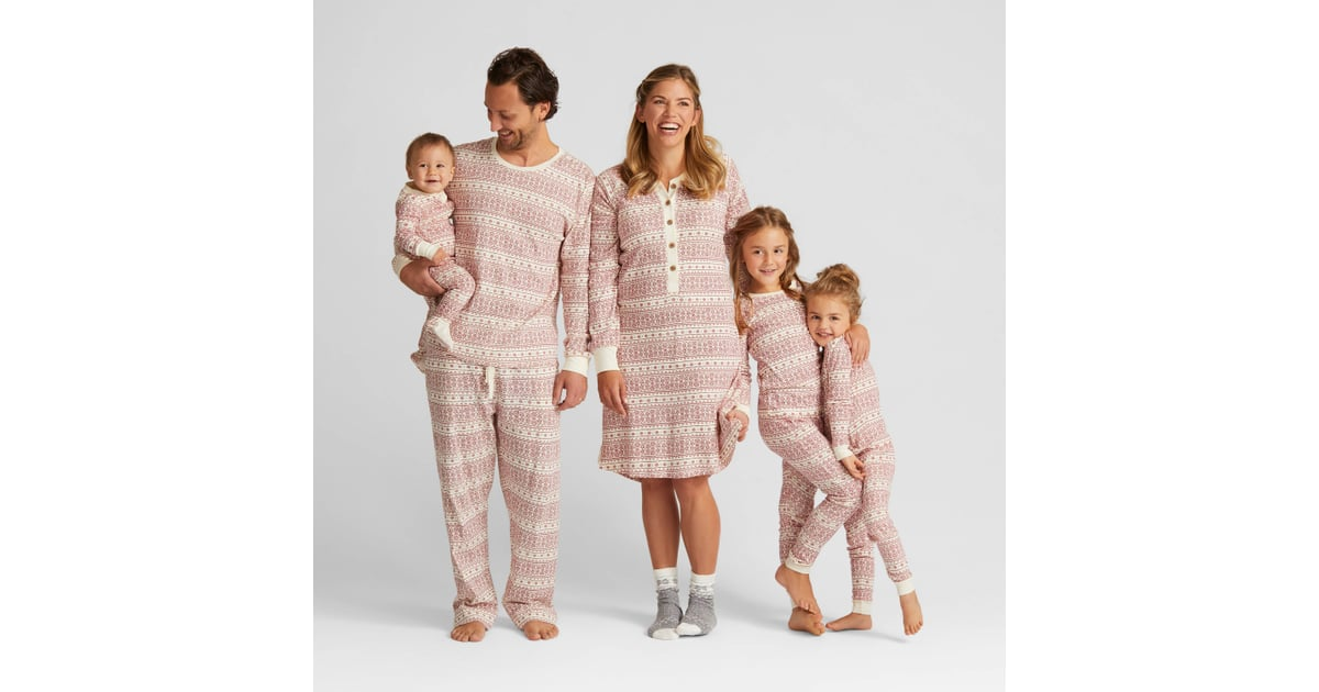 Organic Cotton Fair Isle Family Pajamas Collection | Matching ...