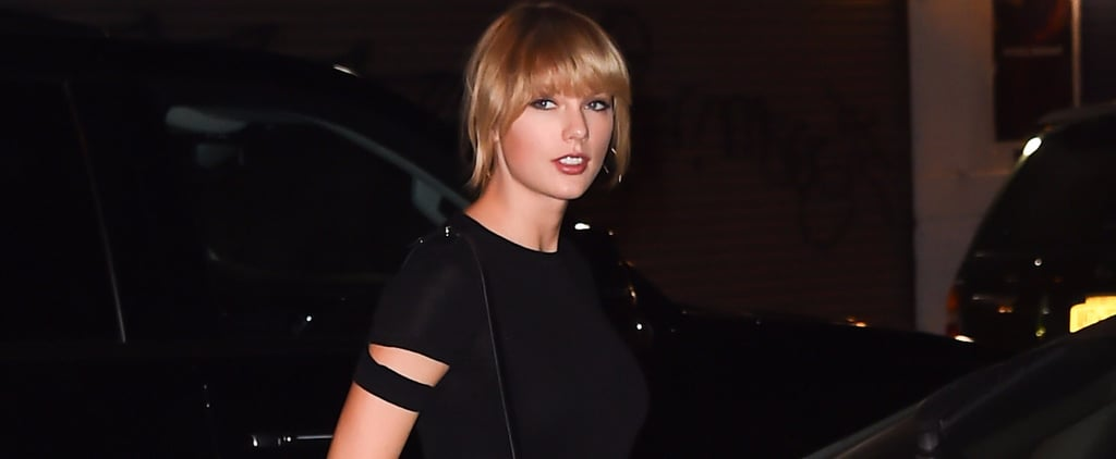 Taylor Swift Shows Off Some Serious Leg During a Night Out on the Town