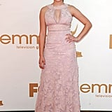 Ariel Winter from Modern Family, which is up for best comedy series, arrived on the red carpet.