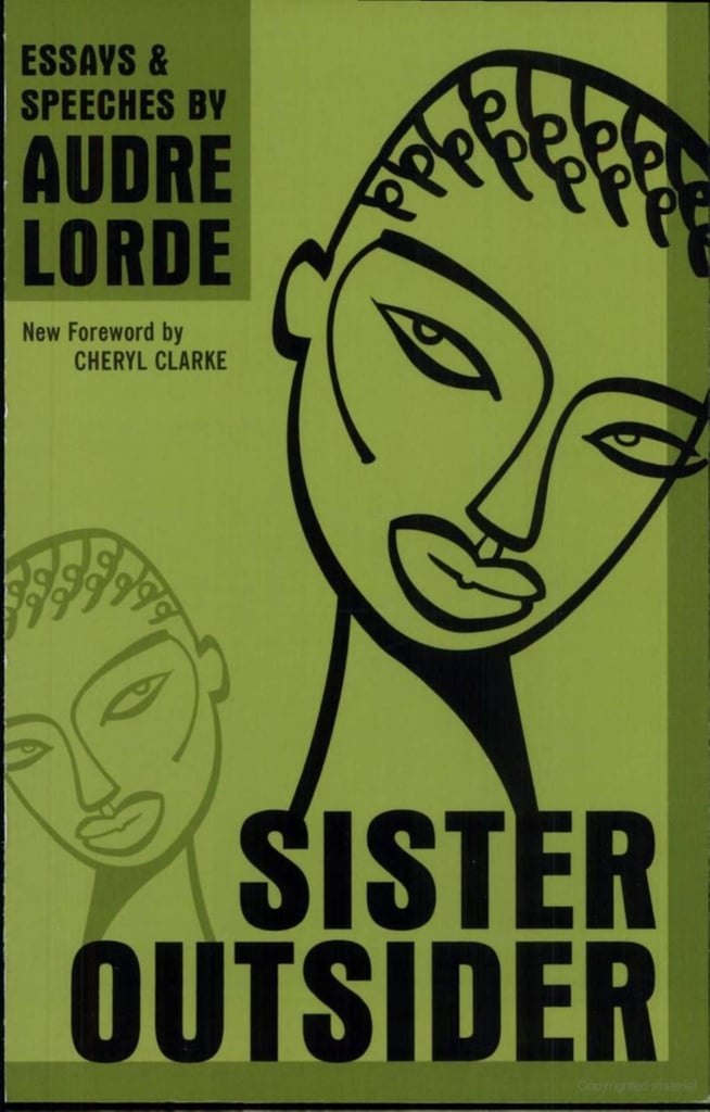 Sister Outsider by Audre Lord