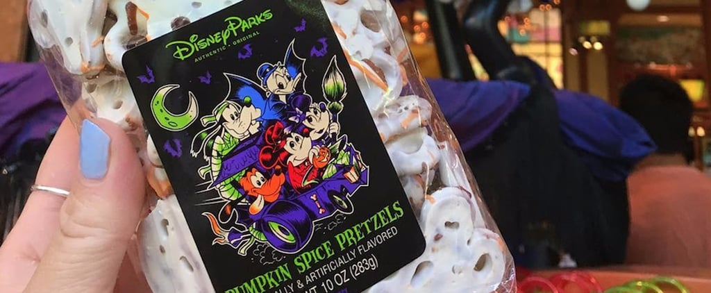 Disney Pumpkin Spice Pretzels