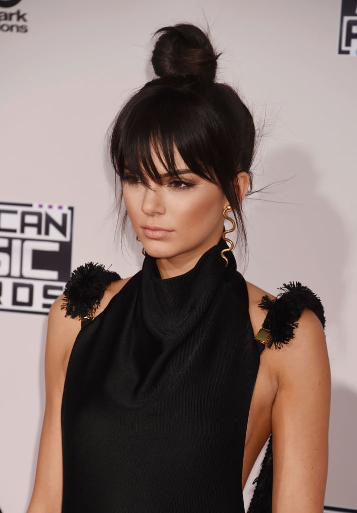 Kendall Jenner in Bangs
