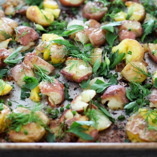 Smashed Potatoes With Herbs Recipe