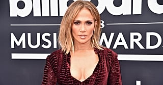 Jennifer Lopez Covered Her Lingerie With a Crocodile Skirt and, Well, Not Much Else