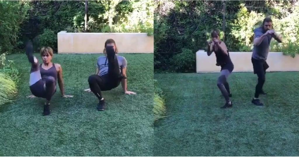 A Self-Defense Ab Workout