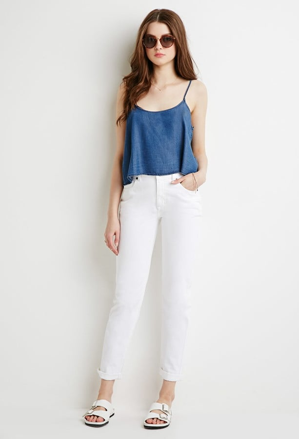 Forever 21 Classic White Mom Jean ($28)