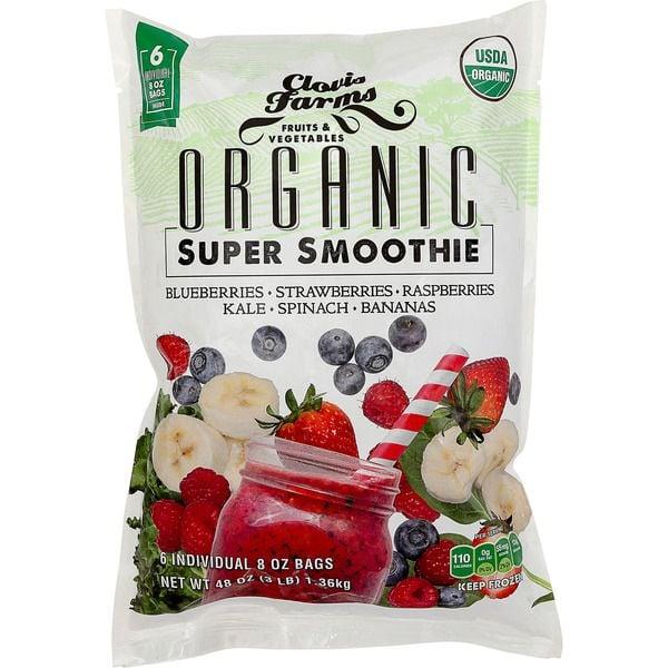 Best Costco Frozen Food: Clovis Farms Organic Smoothie Blend ($13)