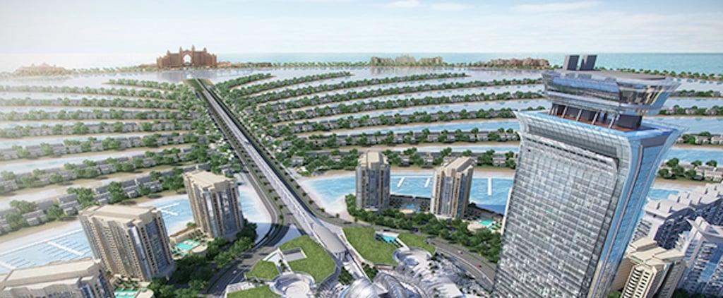 نخيل مول في دبي