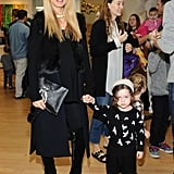 Rachel Zoe at the Baby2Baby Holiday Party.
