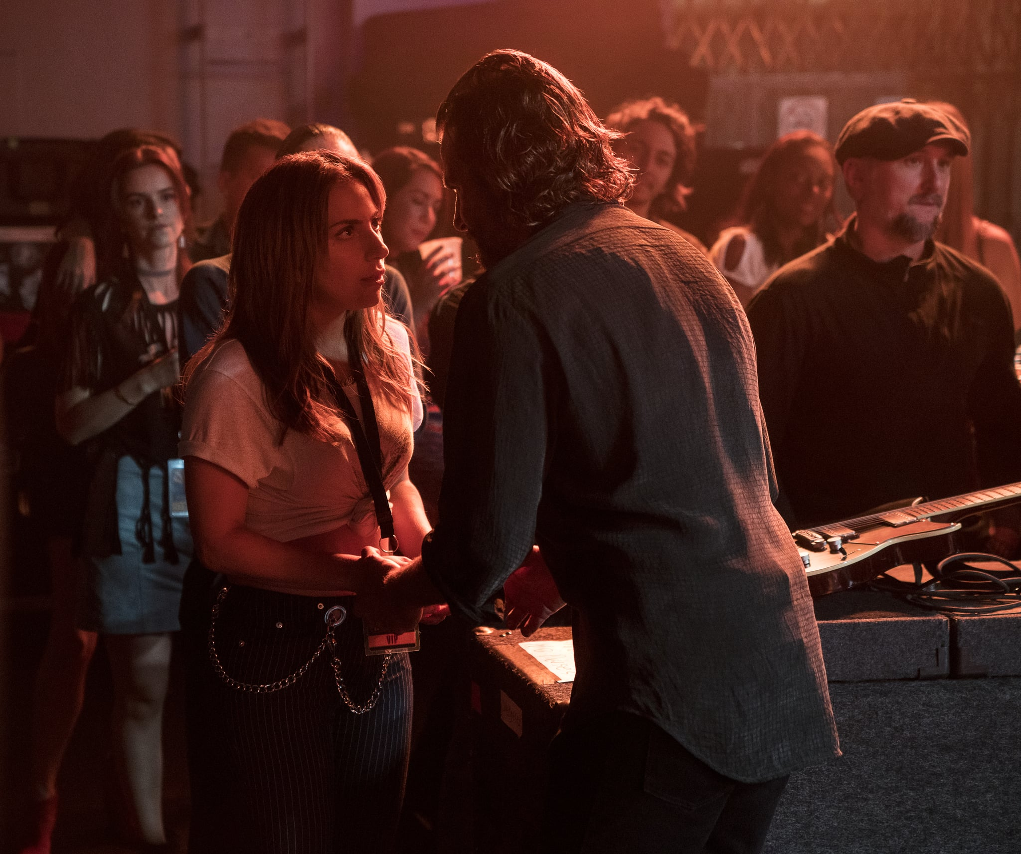 That Magic Moment Between Lady Gaga and Bradley Cooper in A Star Is Born? It Happened IRL