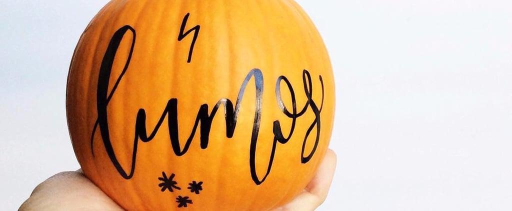 22 DIY Calligraphy Pumpkins