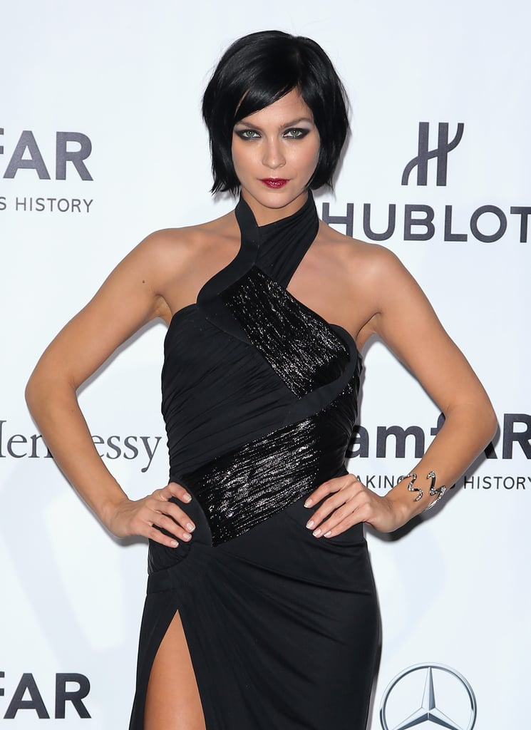 Leigh Lezark at the amfAR Milano Gala.