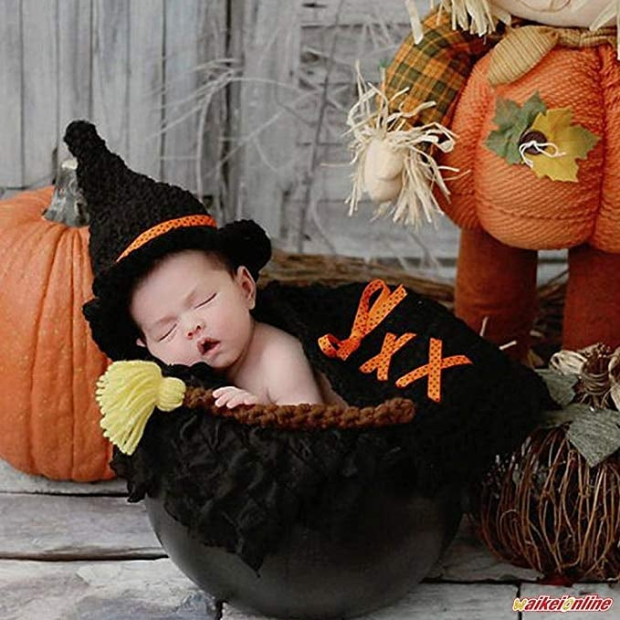 Newborn Hat and Broom