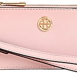 Tory Burch Parker Leather Zip Card Holder