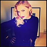 Madonna thanked her fans for their support with this sultry snap. Source: Instagram user madonna