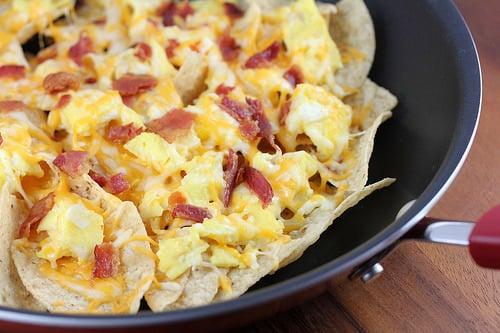 Skillet Breakfast Nachos