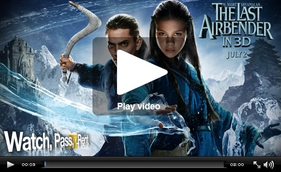 Video Movie Review For The Last Airbender Starring Jackson Rathbone