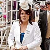 In June 2010, Eugenie's hat might have been small, but it made a big impact.