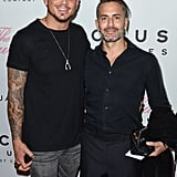 Marc Jacobs and Char DeFrancesco