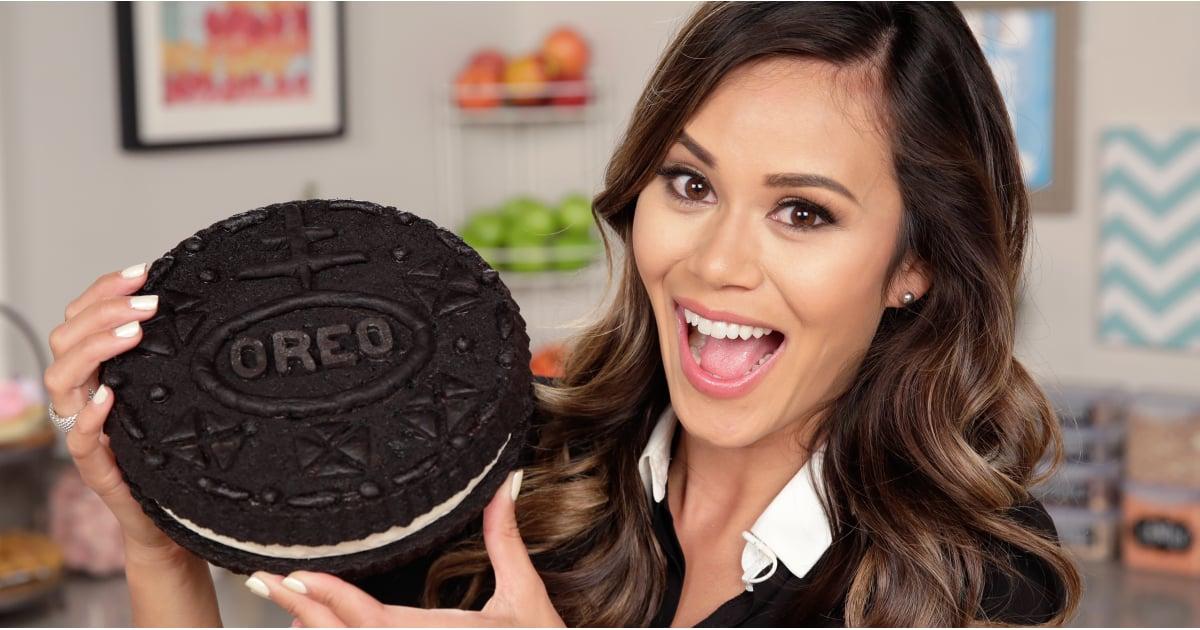 Giant Oreo Cookie Recipe Popsugar Food