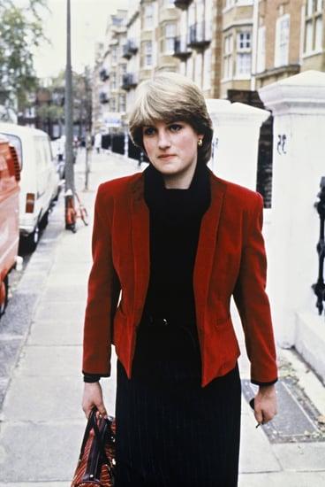 Princess Diana 1980s style