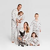 Holiday Festive Dogs Notch Collar Family Pajamas Collection