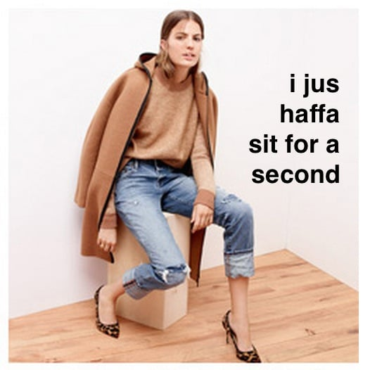 J. Crew Drunk Texts Tumblr