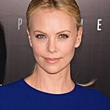 Charlize Theron at the Prometheus premiere in Paris.
