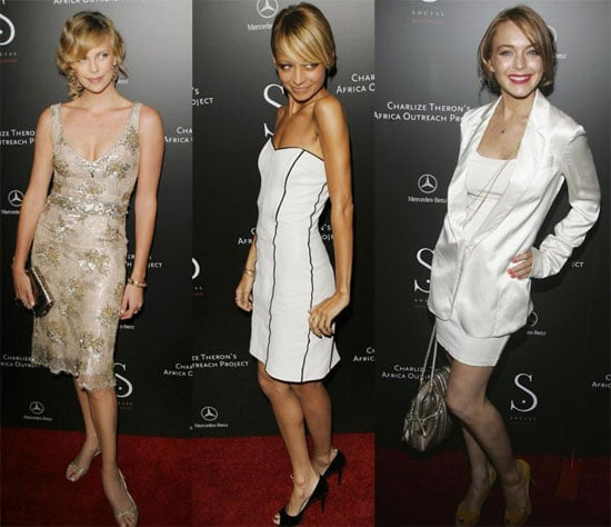 Charlize, LL and Nicole Get Social