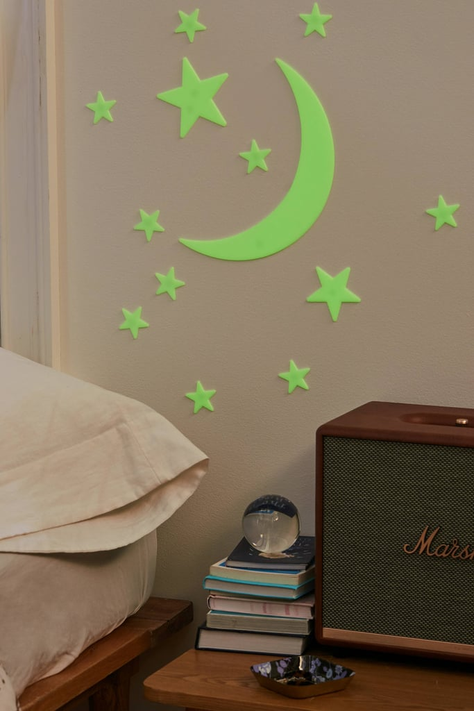 For 7-Year-Olds: Glow-in-the-Dark Moon + Stars Set