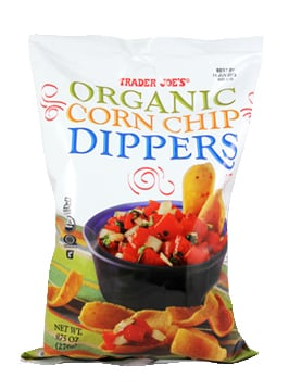 Organic Corn Chip Dippers