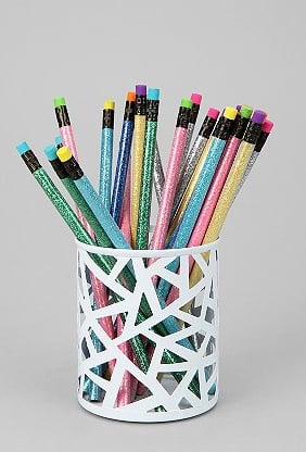 Incroyable Geo Cutout Pencil Holder