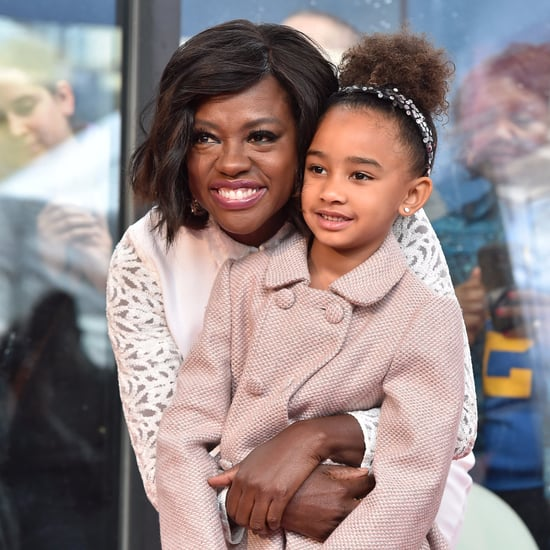 Viola Davis's Daughter Wears Hair Natural While Dressing Up