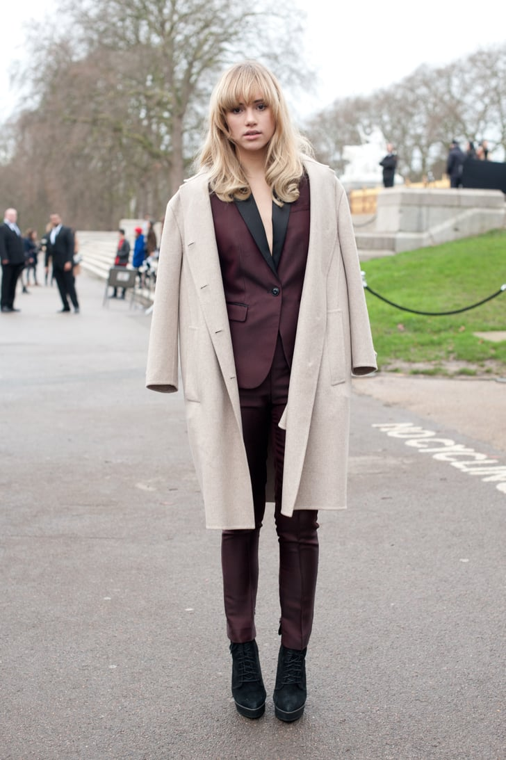 Suki Waterhouse Is Just Another Example Of Why It 39 S All About The Street Style At Menswear