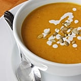 Lunch and Dinner: Pumpkin Bisque