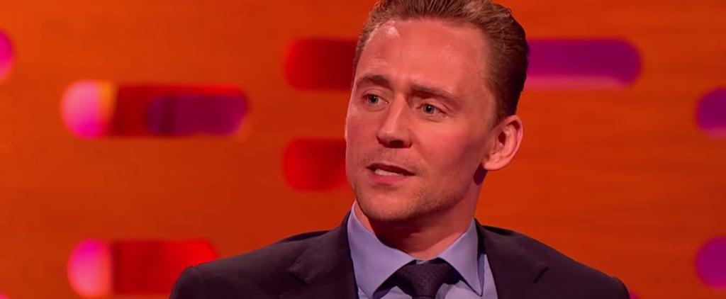 Tom Hiddleston on Crimson Peak Nude Scenes