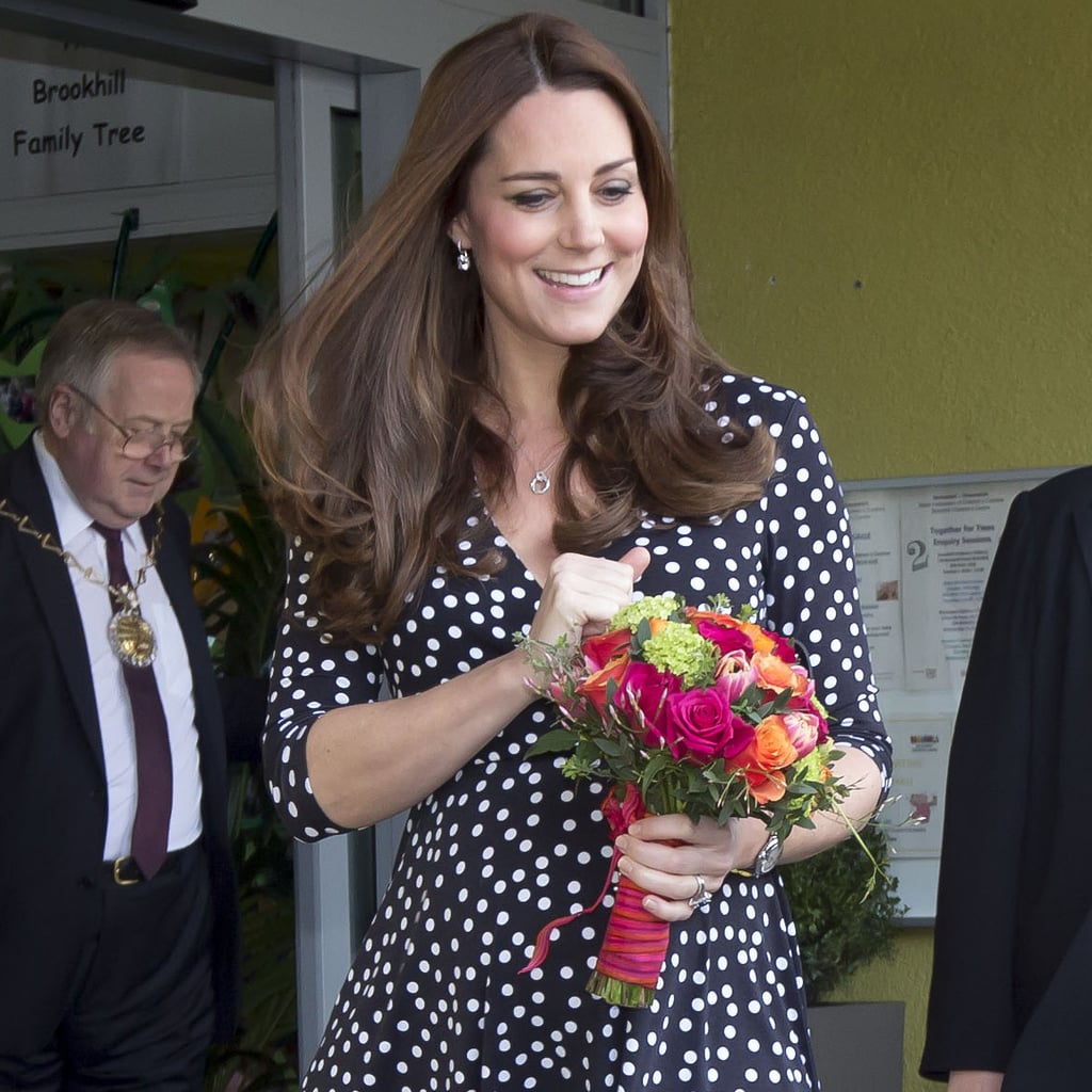 Kate Middleton Visits Brookhill Children's Centre